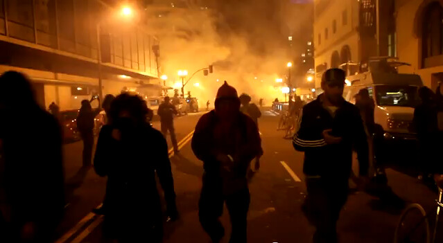 Screen shot:Two weeks of Occupy Oakland