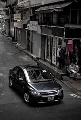Honda Civic (Rupert Procter) Tags: auto hk car nikon ride awesome mobil kong coche motor nikkor   kereta  car car hong rwp kong rupertprocter d80 spotting exotics chasing    juanchai juanchaihk