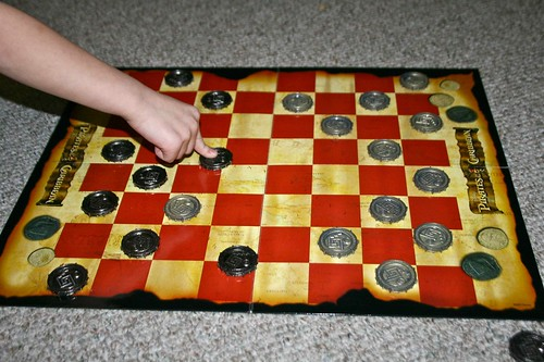 Pirate Checkers