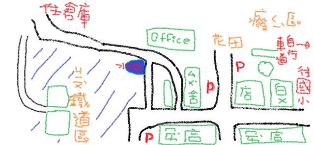 橋頭糖廠MAP