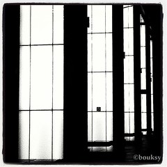Black VS White (Bouksight) Tags: blackandwhite abstract architecture contrast square effects photography noir noiretblanc squareformat abstraction carr ig ombres iphone lomofi blackwhitephotos iphotography iphonephotography iphoneography igers iphone3gs instagram instagramapp uploaded:by=instagram instragram instagramer instagramuser instagramhub