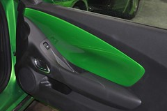 "2011 Synergy Green Camaro 5th Gen custom door panel install • <a style=""font-size:0.8em;"" href=""http://www.flickr.com/photos/85572005@N00/6303469594/"" target=""_blank"">View on Flickr</a>"