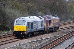 67012 (47843 Vulcan) Tags: ewslivery class67 67003 67012 wrexhamandshropshire