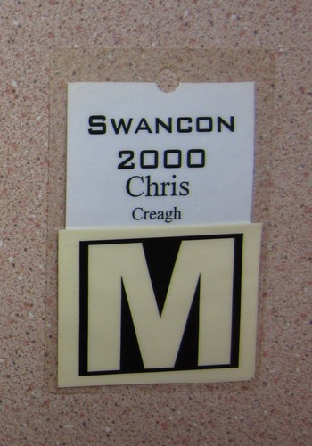Swancon 2000 badge