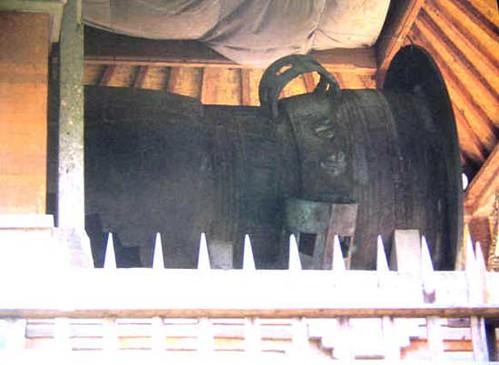 Sangku Sudamala,Holy Vessel at Pura Pusering Jagat