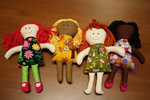 Macie, Finley, Rowan, & Bernadette by E. Magee