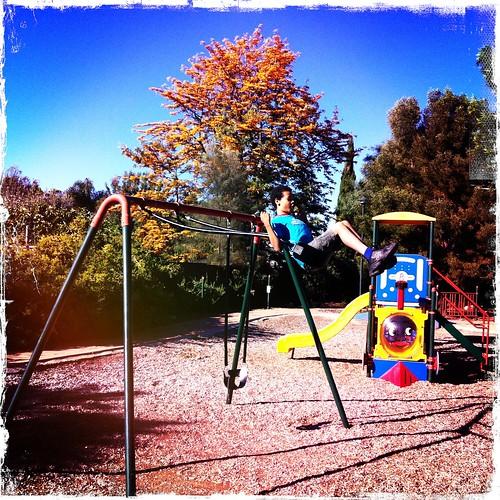 Swingin'. Day 347/365.