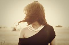 (Ebtesam.) Tags: sunlight black girl nikon dress outdoor 85mm saudi arabia jeddah  ebtesam nikond7000