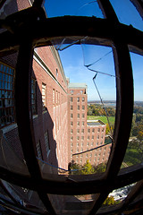 Kings Park Fisheye (AeroFennec) Tags: park urban building abandoned hospital state exploring center fisheye kings 93 asylum kp psychiatric kppc kpsh