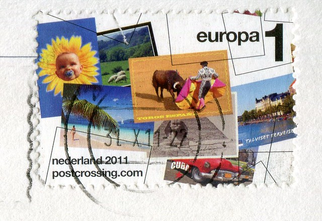 Postcrossing Stamp