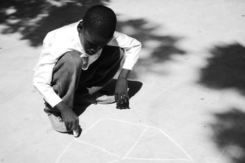 sidewalk chalk art
