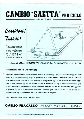Cambio Saetta - 1940 by ruote di carta