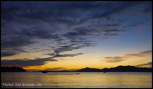 Phuket Sunset 12th November 2011