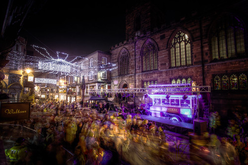 828/1000 - Chester Lights Switch on by Mark Carline