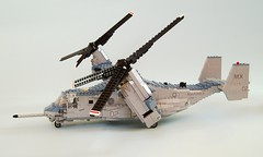 MV-22B Osprey (6) (Mad physicist) Tags: usmc lego military marines osprey v22 tiltrotor mv22b