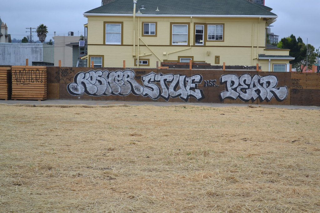 KOSHER, STUE, PEAR, NSF, Graffiti, Street Art, Oakland,