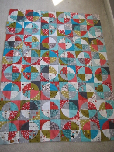 Little Apples Quilt top