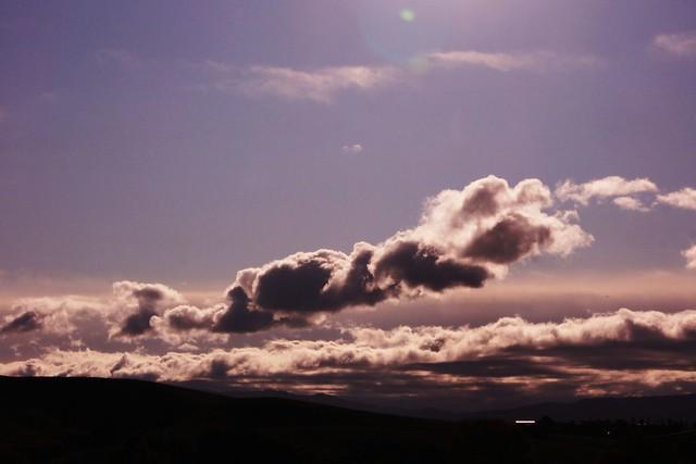rain clouds;