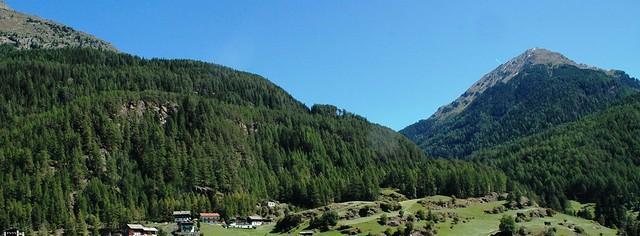 View from Bergland hotel, Soelden, Austria