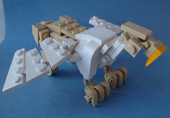 Griffin - 3/4 (.Jake) Tags: castle lego eagle lion fantasy griffin talons