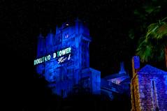 Tower Of Terror (Mr Instructor) Tags: world park tower night studio disney adobe hollywood terror theme walt tone hdr mapped photomatix cs5