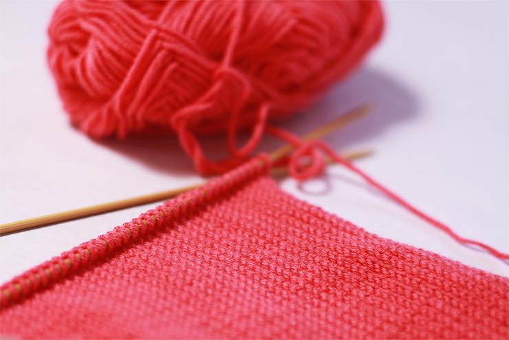 Geranium Knitting