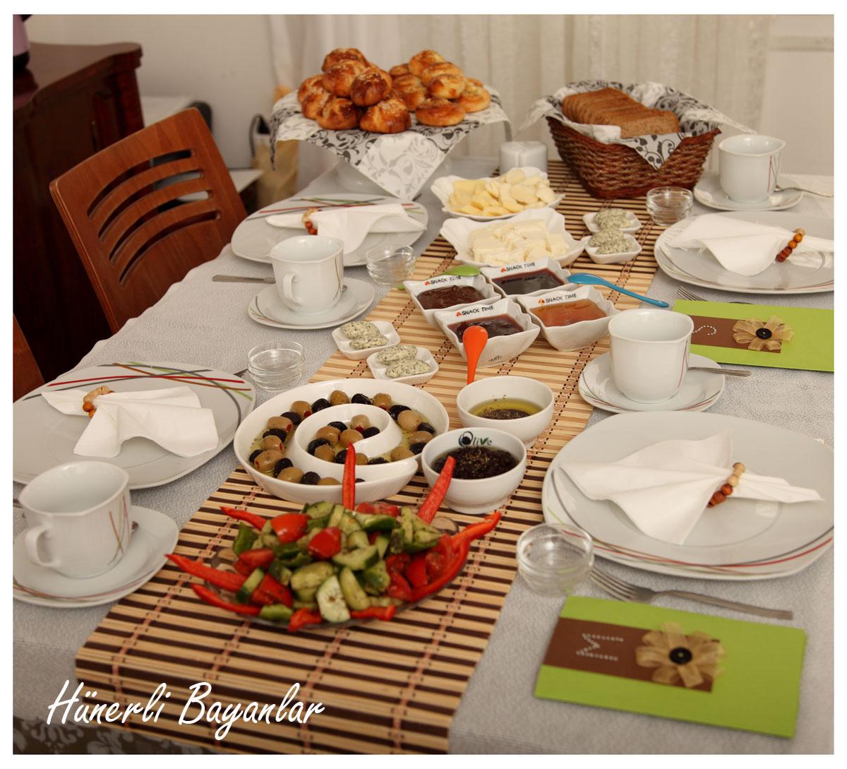 Gizem'in Kahvaltı Sofrası-4
