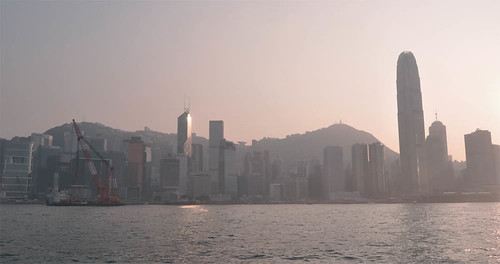 Hong Kong from the boat