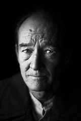 David Hayman (TGKW) Tags: portrait people blackandwhite man david face scotland king theatre glasgow scottish actor hayman citizens lear 4063