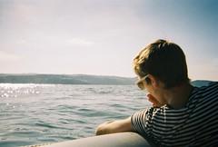 (sophie zurybida) Tags: sea film youth analog 35mm coast sailing smoking devon alcohol disposable