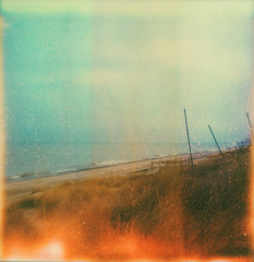 . | november 23. 2011 (a midwest girl) Tags: november autumn lake film beach analog boats sx70 sand dunes lakemichigan analogue indianadunesnationallakeshore polaroidsx70 instantfilm beverlyshores theimpossibleproject dunesgrass px70colorshade