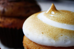 (Bohemia Heart) Tags: australia gourmet cupcake lemonmeringue 2011