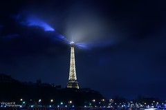 Effeil Tower by night (SpotteR 75) Tags: paris tower seine night port de la long exposure tour shot exposition pont dame soir nuit fer confrence effeil lalma