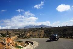 Rolling through Dixam (Gerry & Bonni) Tags: road sky mountains car island yemen socotra soqotra dixam