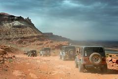 Easter Jeep Safari (tomkellyphoto) Tags: usa ut jeep 4wd moab redrock offroading jeeping goldbarrim finsandthings easterjeepsafari