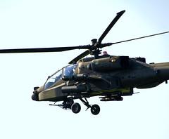 Invading Drenthe (Ger Bosma) Tags: apache drenthe pacifism huisterheide falconautumn img215571 apachecombathelicopter