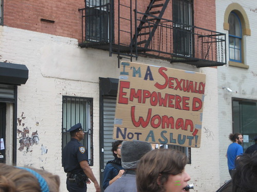 SlutWalk NYC 2011 015