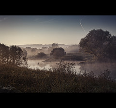 Morning Idyll (Photofreaks) Tags: david fog river essen nebel foggy ruhr ruhrgebiet caspar friedrich mlheim leinpfad adengs wwwphotofreaksws shopphotofreaksws