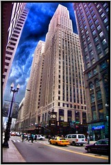 One LaSalle Street Building  ~ Chicago IL (Onasill) Tags: county street chicago building art architecture skyscraper john de one illinois downtown martin north rene n cook places landmark historic il architect burns karl lasalle register haymarket deco registry ipad robery cavelier nrhp sieur onasill