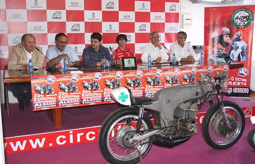 Presentación Campeonato Europa Motociclismo 2011