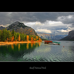 Lake Minnewanka #1316 (alexander.garin) Tags: autumn fall nature landscape rockies canadianrockies bestcapturesaoi elitegalleryaoi