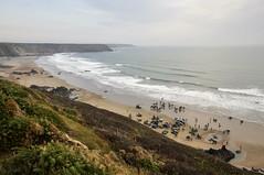 Tides coming in (Keartona) Tags: sea film beach wales coast sands filming scenes pembrokeshire marloes snowwhiteandthehuntsman