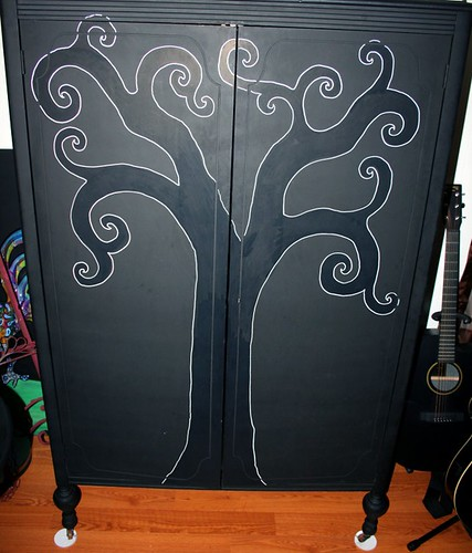Vintage Wardrobe/Armoire by Rick Cheadle Art and Designs