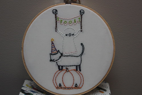 Spooky Embroidery