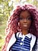 235 (Alrunia) Tags: dreadlocks toy doll nikki ooak barbie yarn christie asha dreads fashiondoll mattel aa shani reroot caligirl restyle 16thscale playscale