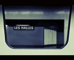 Les Halles (zilverbat.) Tags: travel paris station canon underground europa raw metro market postcard streetphotography metropolis markt cinematic parijs lightroom reizen marktplaats lr3 dehallen candidphotography 2011 straatfotografie cs5 herkenning canon7d zilverbat