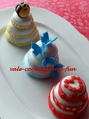 3色のMiniケーキ