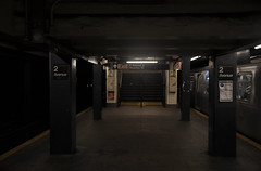 2nd Ave Station (Surrealplaces) Tags: new york city newyorkcity urban newyork skyline night centralpark gotham brookylnbridge