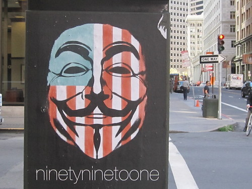 Ninety Nine to One Occupy Poster