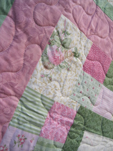 JoAnn M - quilting close-up